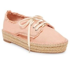 Dolce Vita Shoes - Dolce Vita Pink Roxie Espadrille Sneakers